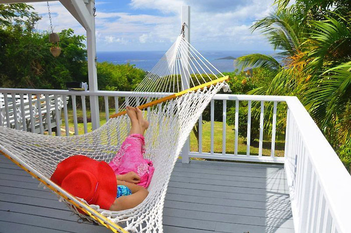 Relax in the hammock with gentle tropical breezes and star-filled skies at night